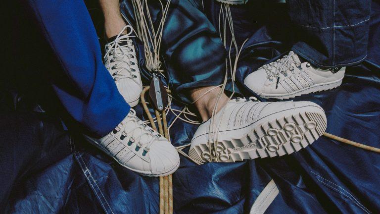Editorial: adidas x Footshop Superstar 'Blueprinting'